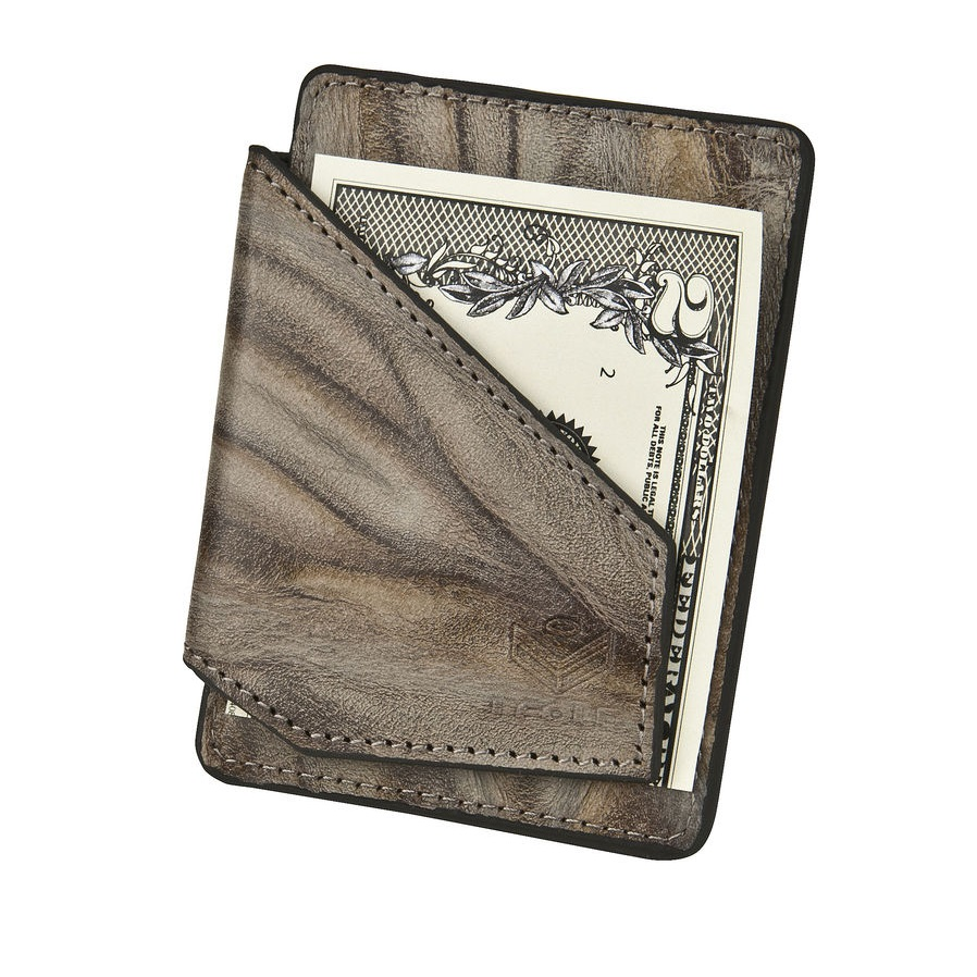 J.FOLD ארנק קליפס Mag Card - Stone