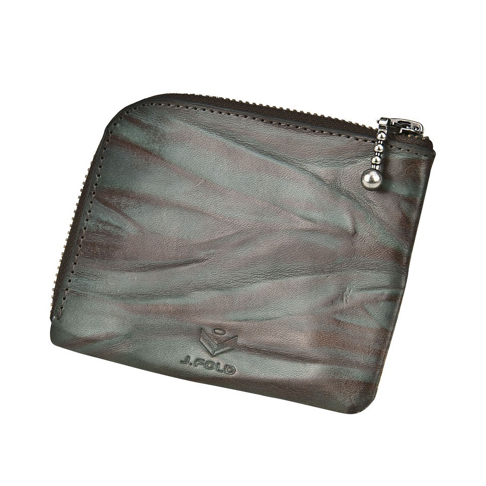 J.FOLD Zip Wallet  - Water