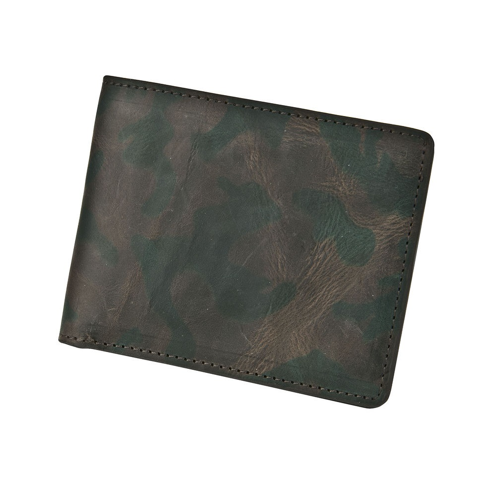 Leather Wallet - Jungle