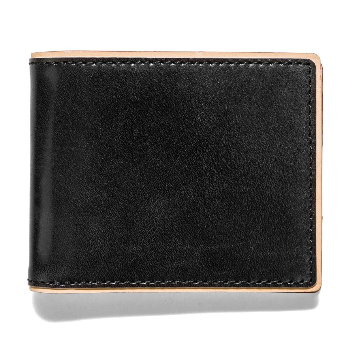 J.FOLD DUOTONE Leather Wallet - Black
