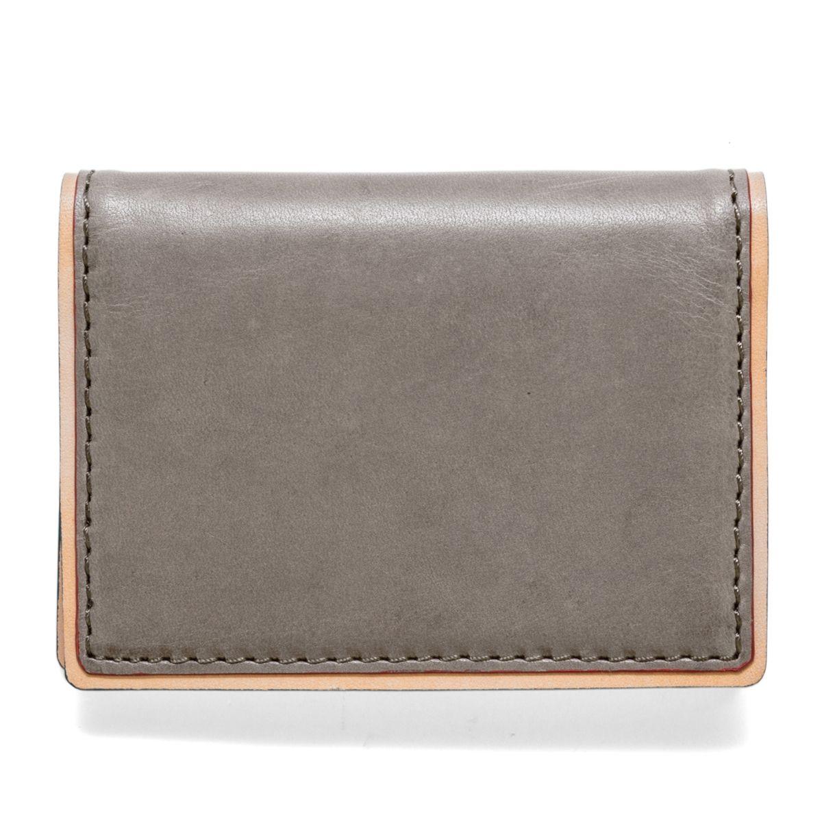 J.FOLD ארנק עור דגם Duotone Folding - אפור