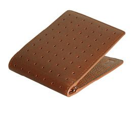 J.FOLD Loungemaster Leather Wallet  - Brown