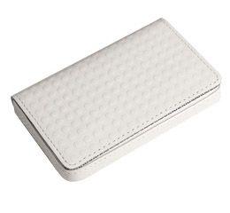 J.FOLD ארנק כרטיסי ביקור דגם Mini Snap Case - לבן