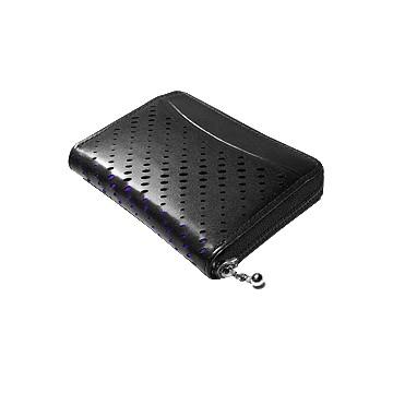 J.FOLD Hemi Zip Wallet - Black