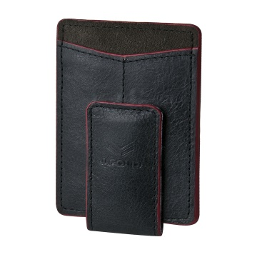 J.FOLD Magnetic Money Clip Wallet - Black