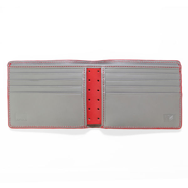 J.FOLD Altrus Leather Wallet - Light Grey