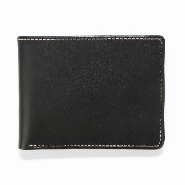 J.FOLD ארנק עור Havana - שחור\קאמו