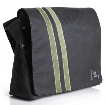 J.FOLD Messenger Bag - Black