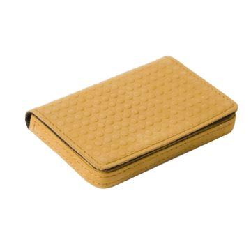 J.FOLD ארנק כרטיסי ביקור דגם Mini Snap Case - קאמל
