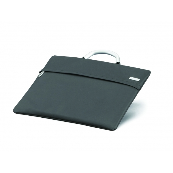 LEXON Flap Laptop Bag - Dark Grey