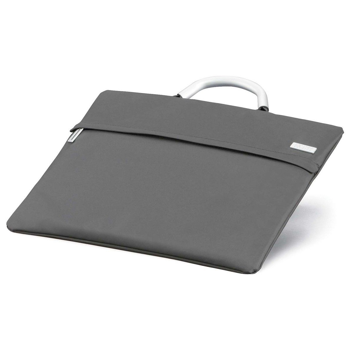 LEXON Flap Laptop Bag - Light Grey