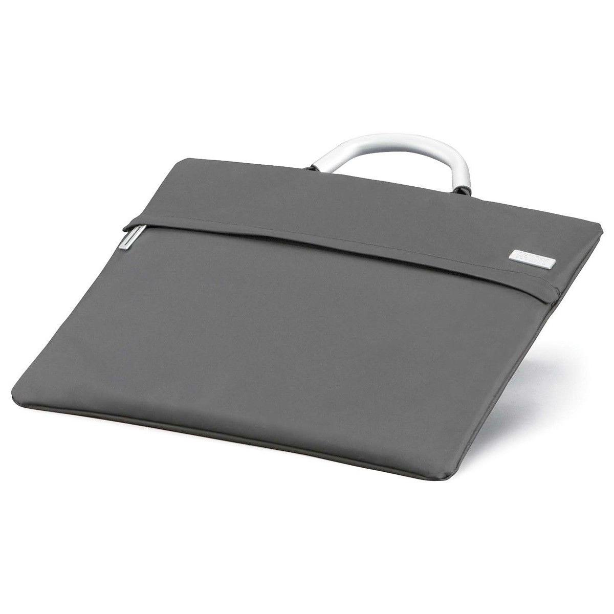 LEXON תיק צד ללפטופ דגם FLAP - אפור בהיר