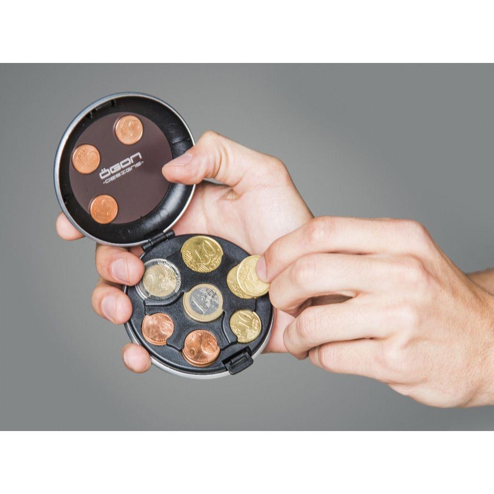OGON ארנק אלומיניום למטבעות - זהב אדום