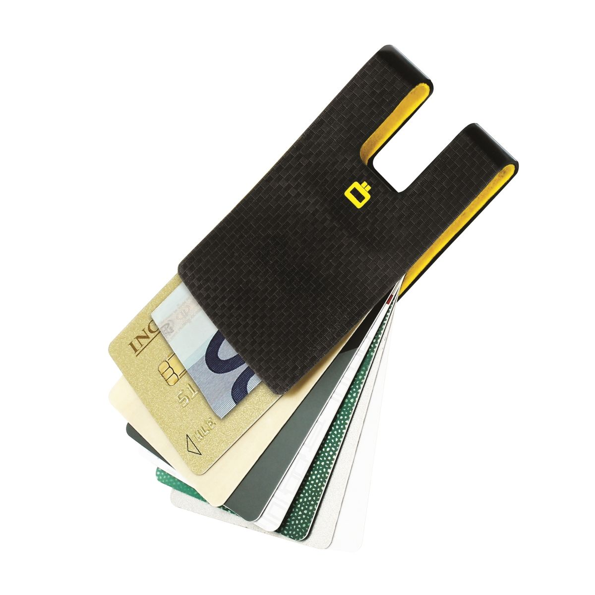 OGON Polycarbonate Card Clip - Carbon