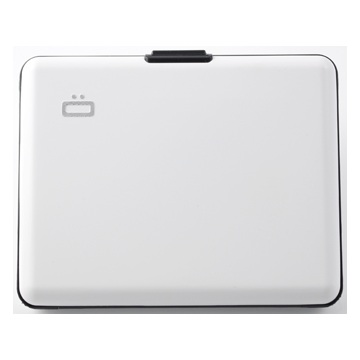 OGON Aluminum Wallet Big - White