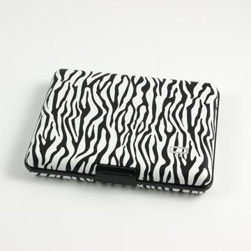 OGON Aluminum Wallet Big - Zebra