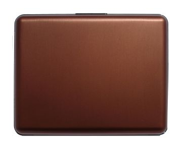 OGON Aluminum Wallet Big - Brown