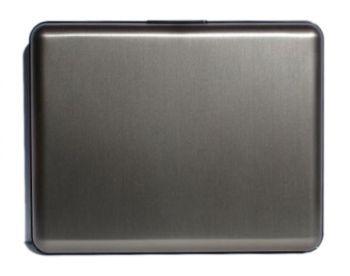 OGON Aluminum Wallet Big - Dark Grey