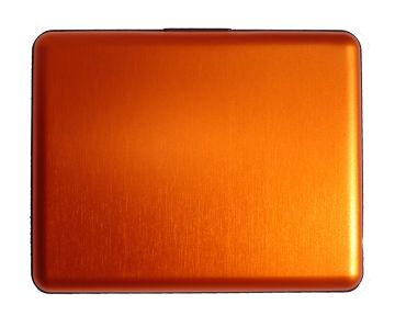 OGON Aluminum Wallet Big - Orange