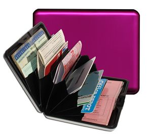 Aluminum Wallet Big - Purple