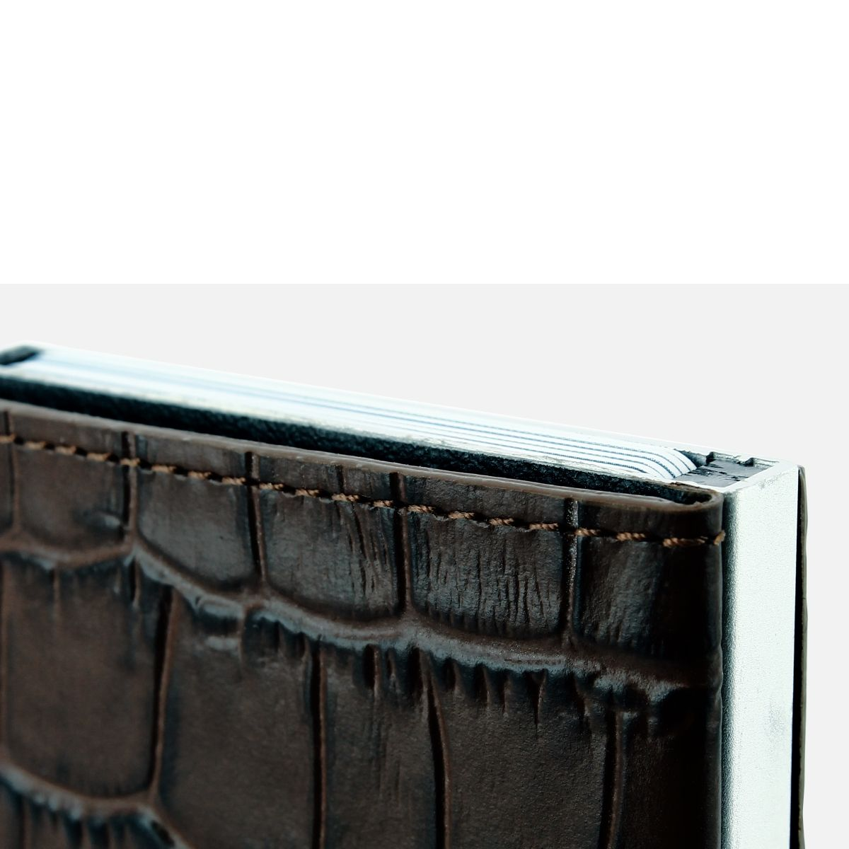 OGON Card Case Wallet - Croco