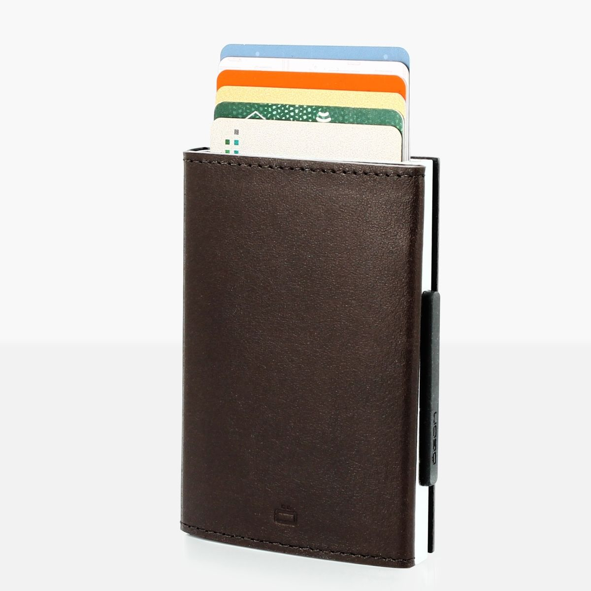 OGON Card Case Wallet - Brown