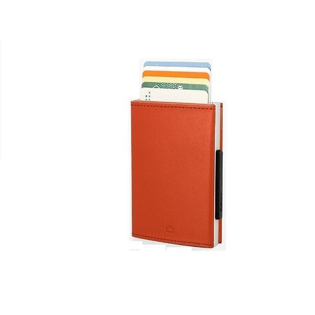 Cascade Card Case Wallet - Orange