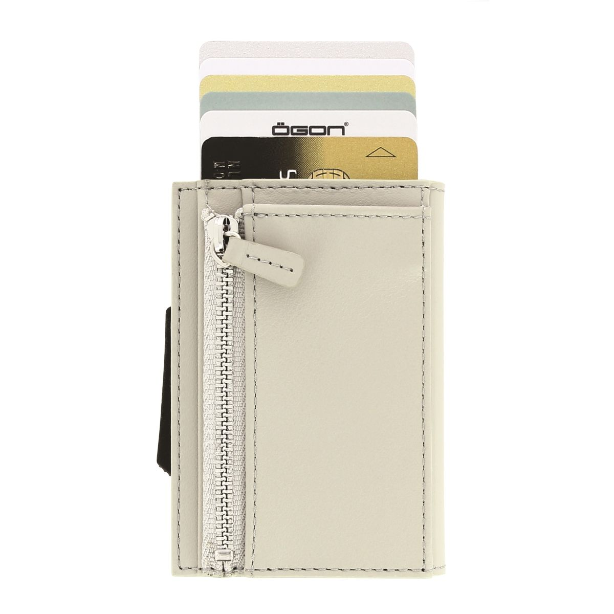 OGON Cascade Card Case Wallet With Zipper - Blaster