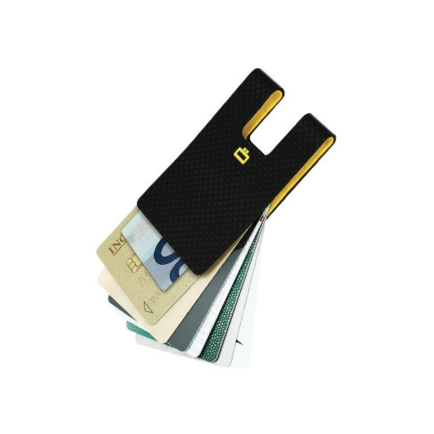 OGON Carbon Fiber Card Clip - Carbon
