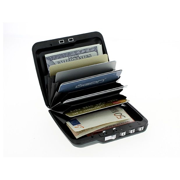 OGON Mini Safe Code Wallet - Blue