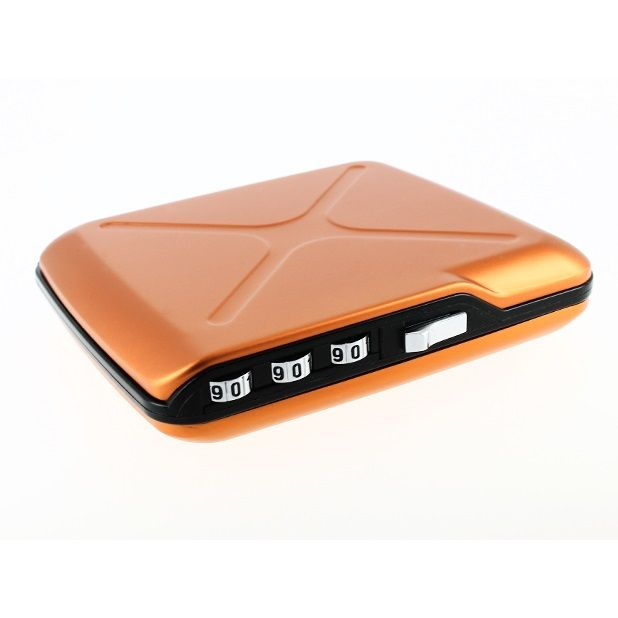 OGON Mini Safe Code Wallet - Orange