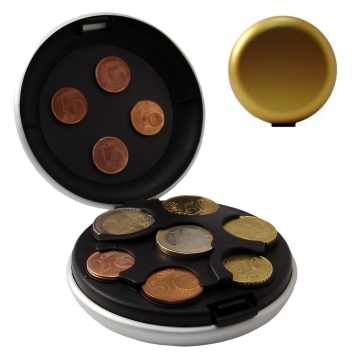 Aluminum Coin Dispenser - Gold
