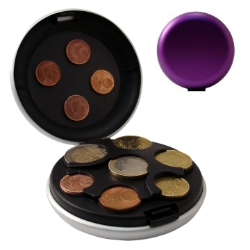 OGON Aluminum Coin Dispenser - Purple