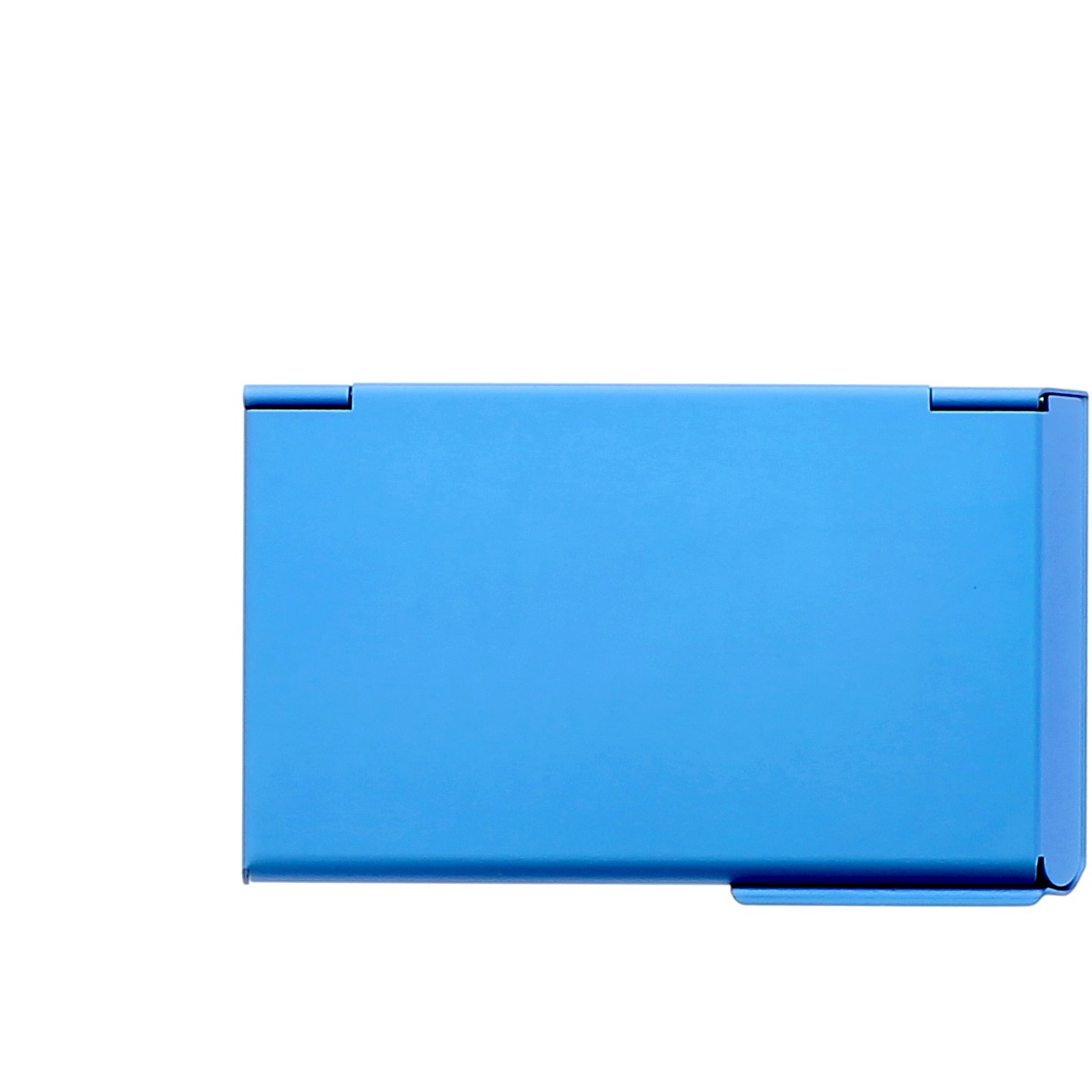 Ogon aluminum business card holder one touch blue wallets online ogon aluminum business card holder one touch blue magicingreecefo Choice Image