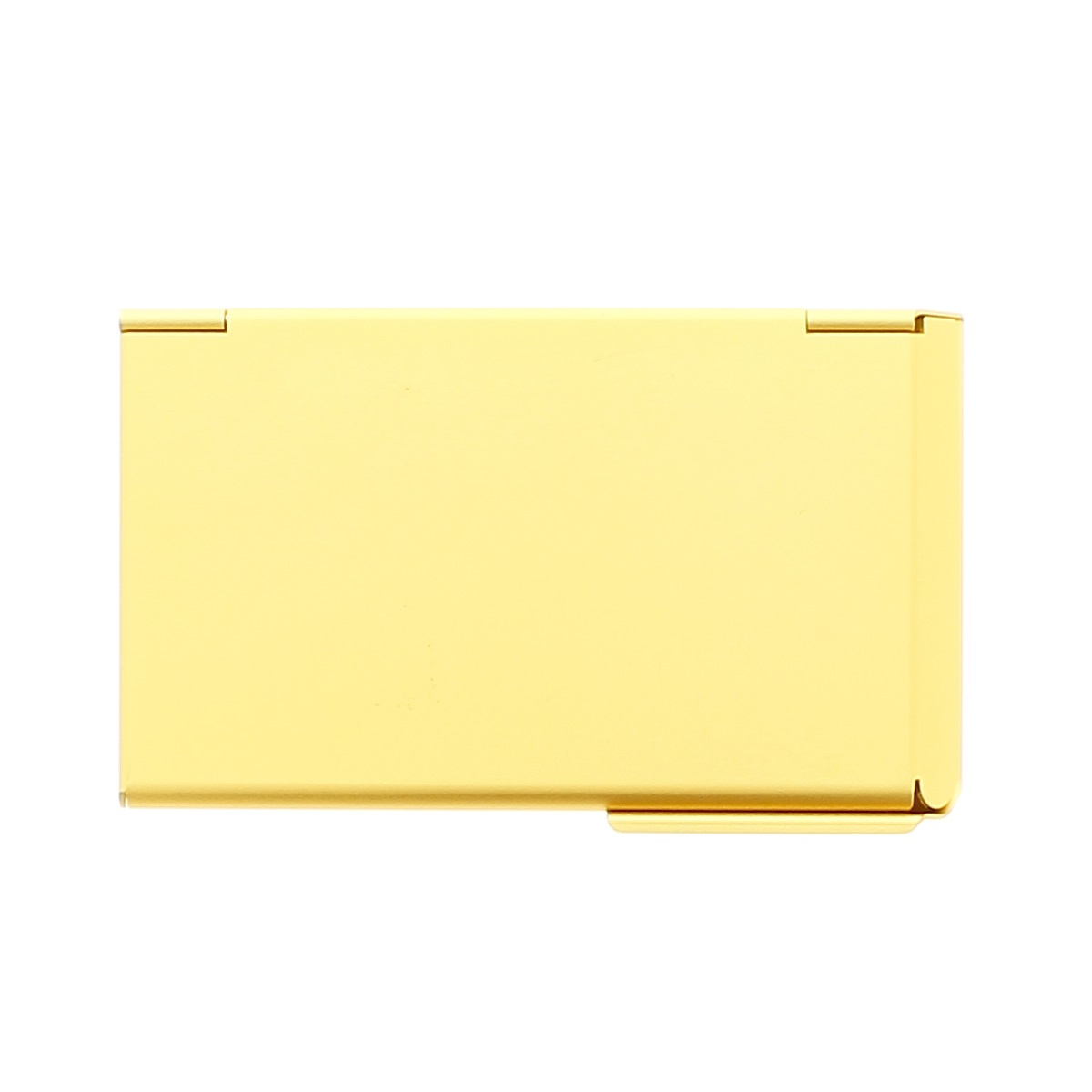 OGON Aluminum Business card holder One Touch - Gold