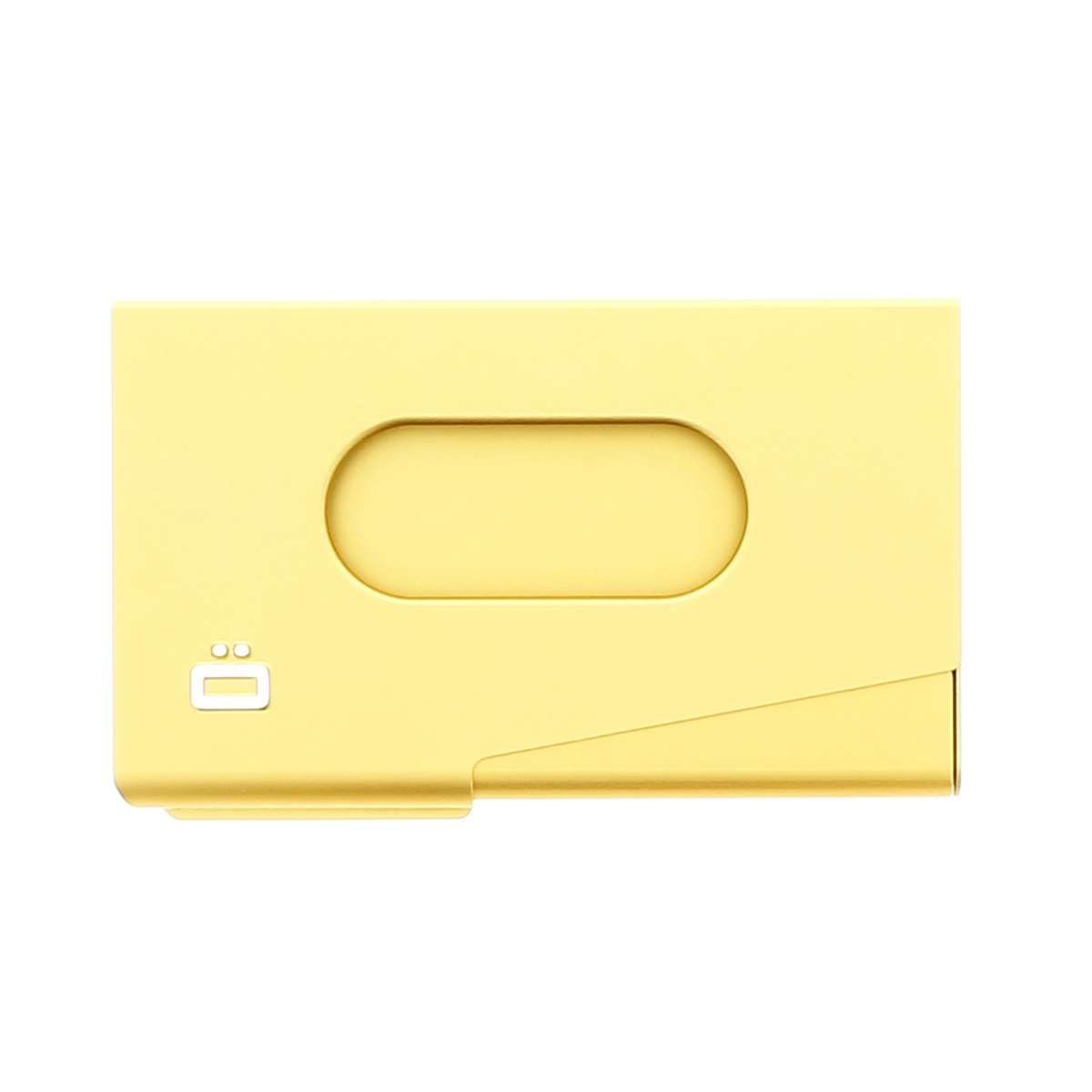 ogon aluminum business card holder one touch gold wallets online. Black Bedroom Furniture Sets. Home Design Ideas