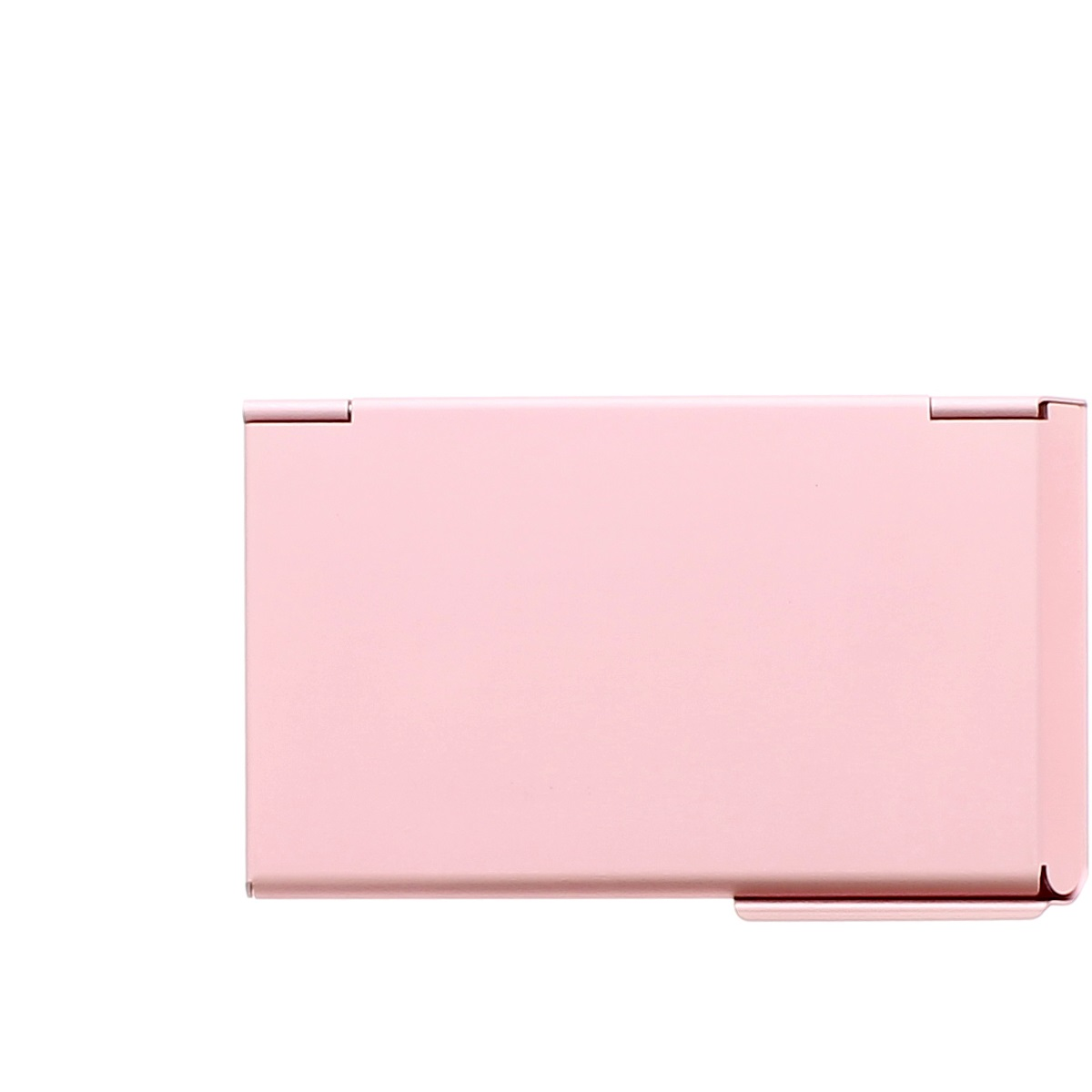 OGON Aluminum Business card holder One Touch - Pink | Wallets Online