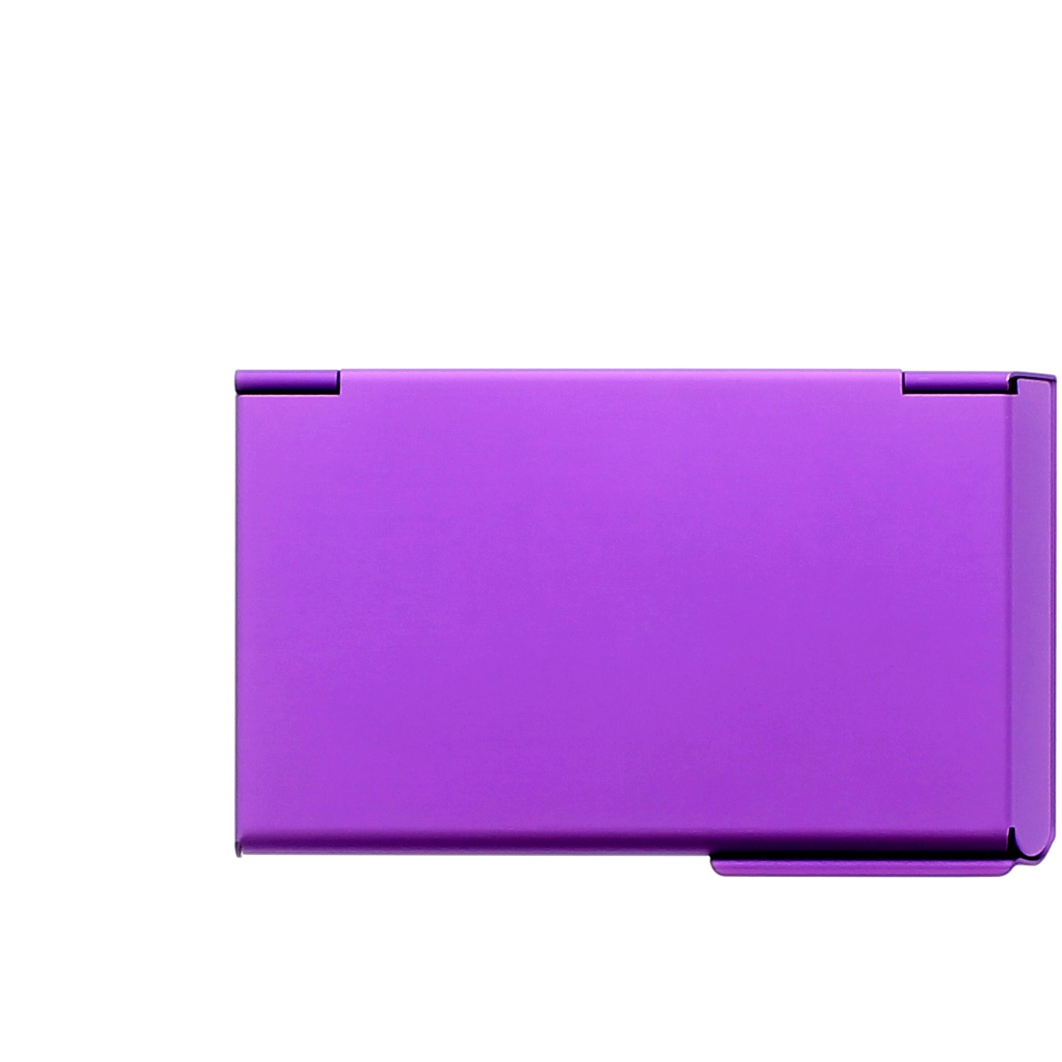OGON Aluminum Business card holder One Touch - Purple