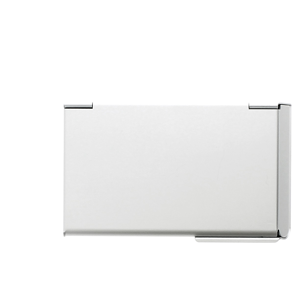 OGON Aluminum Business card holder One Touch - Silver