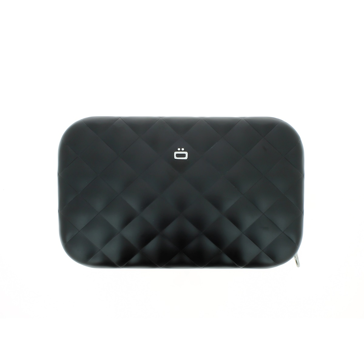 OGON Aluminum Clutch Quilted Lady Bag - Black