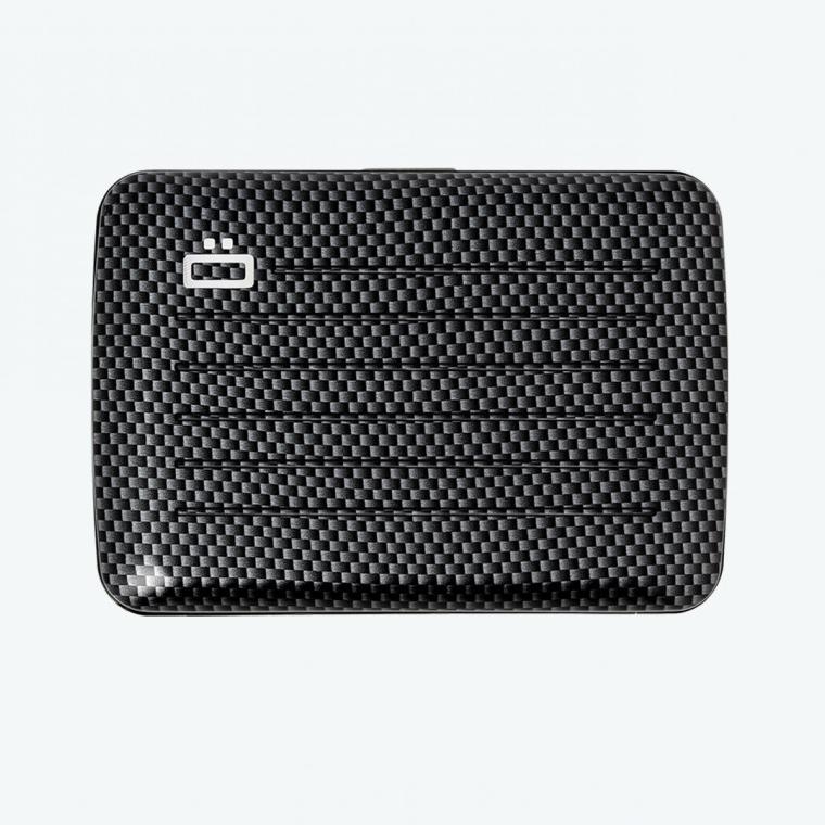 OGON Aluminum Wallet Water Resistant V2.0 - Carbon Taffeta