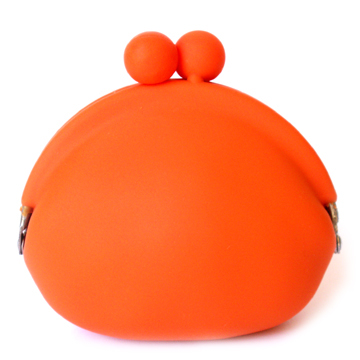 POCHI Silicone Coin Wallet - Orange