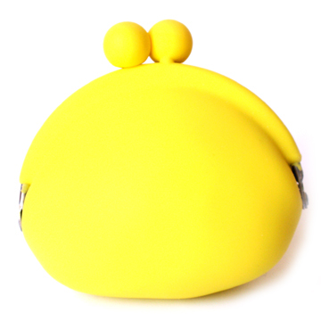 POCHI Silicone Coin Wallet - Yellow