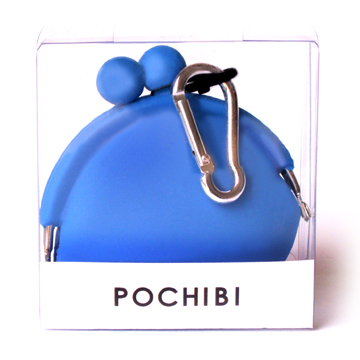POCHI Silicone Wallet POCHIBI - Orange