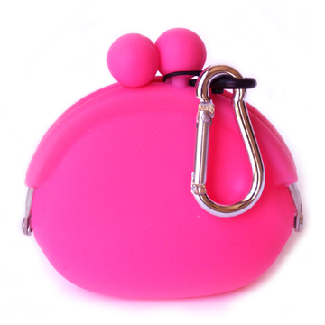 POCHI Silicone Wallet POCHIBI - Pink