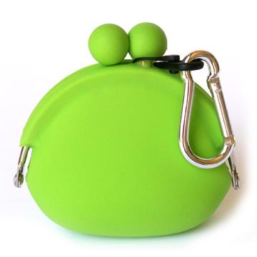 POCHI ארנק סיליקון קטן POCHIBI - ירוק