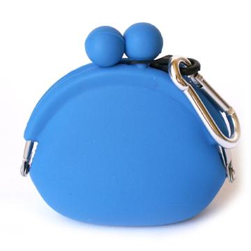 POCHI ארנק סיליקון קטן POCHIBI - כחול