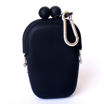 Silicone Wallet POCHIBII - Black