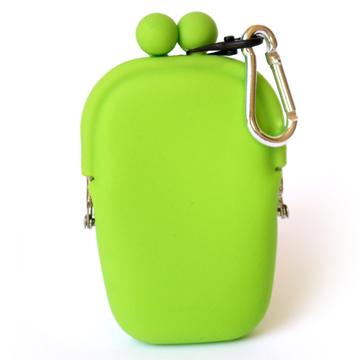POCHI ארנק סיליקון קטן POCHIBII - ירוק
