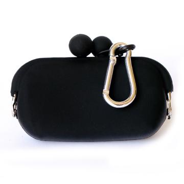 POCHI Silicone Wallet POCHIBII - Black